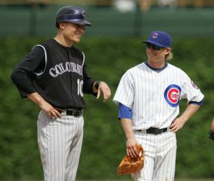 The Rockies and Cubs meet again this weekend for 4 games in Denver